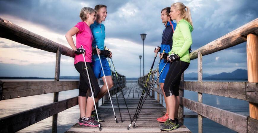 Скандинавская ходьба для начинающих